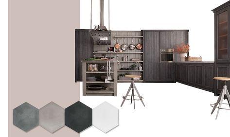 Colori pareti cucina: come scegliere tinta e abbinamenti ...