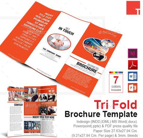 Word Informational Brochure Template Brochure Template Word Format
