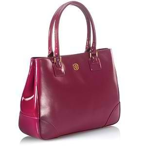 6147a43a3d48 Tory Burch Robinson East West tote bag
