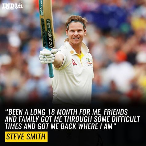 What a terrific comeback for Steve smith! #cricketer #stevesmith #ashes201