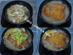 Chicken Katsu Don A La Jtt Ayam Resep Makanan
