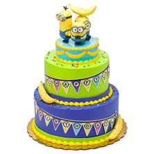 DecoPac Minions Celebrate Signature Cake DecoSet Cake Topper