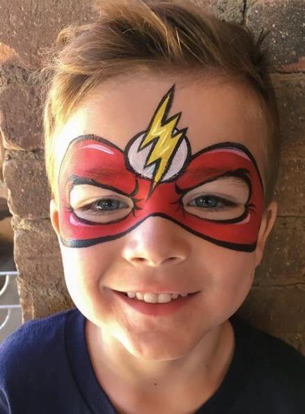 23 Ideas Painting Face Kids Masks For 2019 Superhero Face Painting Face Painting Halloween Face Painting Easy
