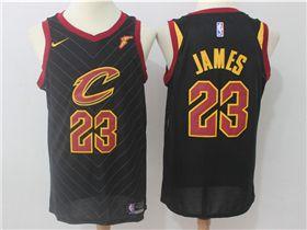 competitive price dac8d 14633 Cleveland Cavaliers #23 LeBron James Black Swingman Jersey ...