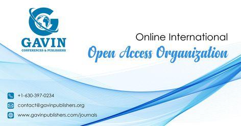Gavin Publishers Open access Journal