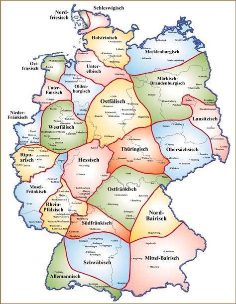 dialekte in deutschland karte Willkommen in Deutschland! : Foto   #Deutschland #foto #WILLKOMMEN