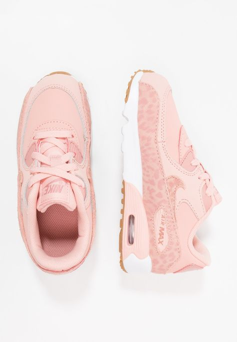 3213912c44af Nike Sportswear AIR MAX 90 - Joggesko - coral stardust rust pink white light  brown - Zalando.no