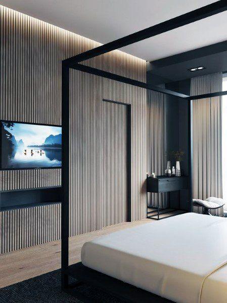 Top 70 Best Wood Wall Ideas Wooden Accent Interiors Luxury Bedroom Master Luxurious Bedrooms Master Bedroom Interior