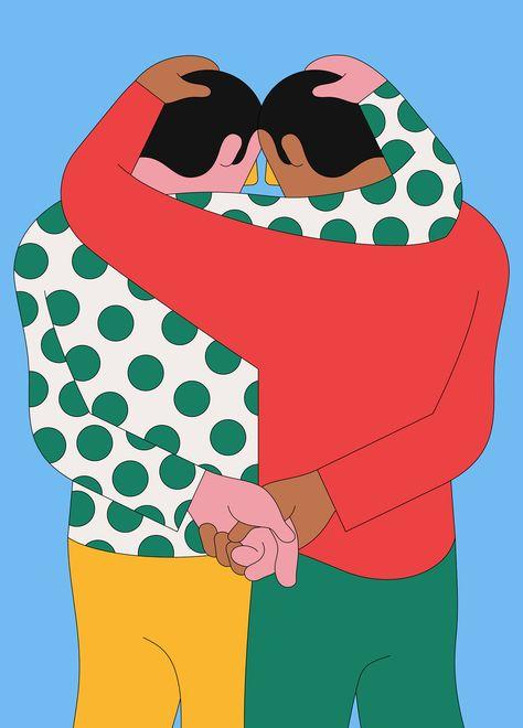 Friends by Camilo Huinca
