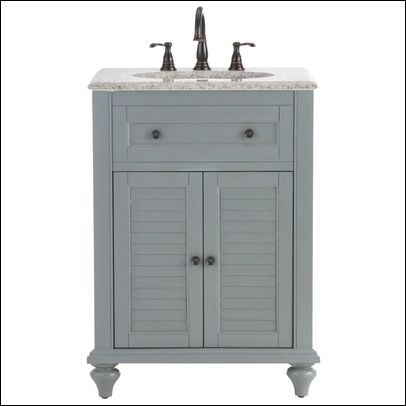 Home Depot Small Bathroom Vanities With Images Granite Vanity