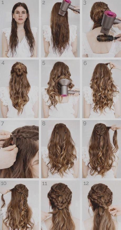 Frisuren Lange Haare Locken Selber Machen Trend Damen Frisuren Khaleesi Hair Renaissance Hairstyles Hair Tutorial