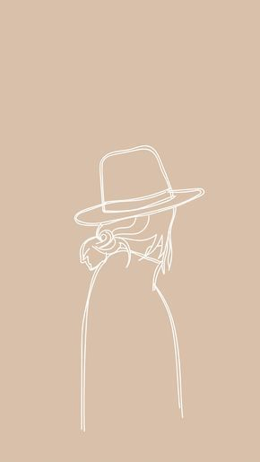 Creating Colorful, Vibrant Fiber Art & Home Decor by REVLStudio white ink sketch illustration of girl with hat Art Minimaliste, Girl With Hat, Minimalist Art, White Ink, Aesthetic Art, Wall Collage, Cute Wallpapers, Aesthetic Wallpapers, Art Inspo