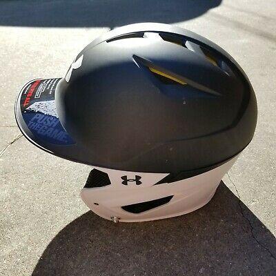 Under Armour Baseball Uabh2 100 Tt D Bk Batting Helmet Size 6 1 2 7 1 2 Black Batting Helmet Helmet Under Armour