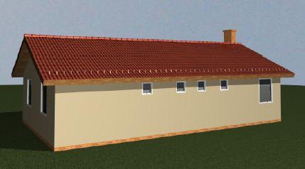 Nyeregtetős ház