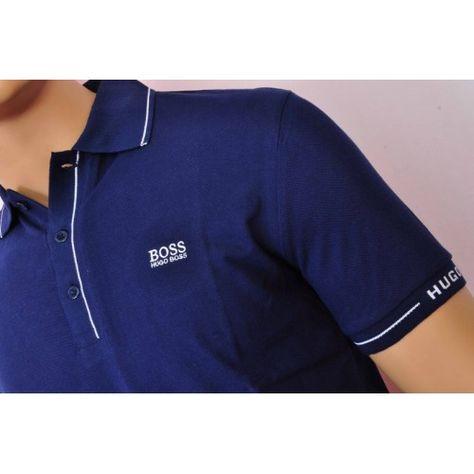 edf8a55f Image result for hugo boss royal blue polo shirt