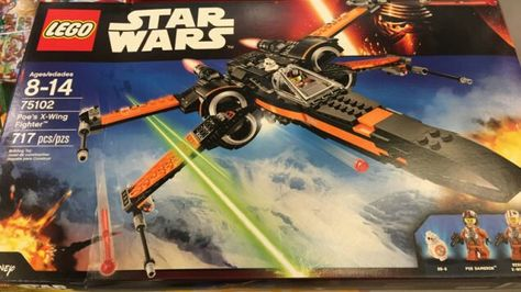 Lego Star Wars 75102 Poe/'s X-Wing Fighter 717pcs The Force Awakens Sealed 2015
