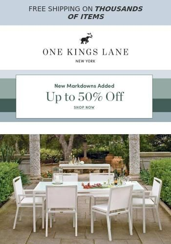 Up To 50 Off Janus Et Cie Outdoor Furniture See The Latest Deals And Offers From One Kings Lane Got Mailed Outdoor Furniture Outdoor Beautiful Living Rooms