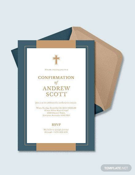 Confirmation Invitations Templates Free 9 Confirmation Invitation Templates Psd Ai Eps Confirmation Invitations Invitation Template Invitations