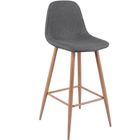 Tabouret De Bar Fredrik Gris 72 5 Cm Lot De 2 In 2020 Home Decor Furniture Decor
