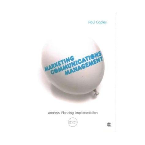 Marketing Communications Management - Paperback