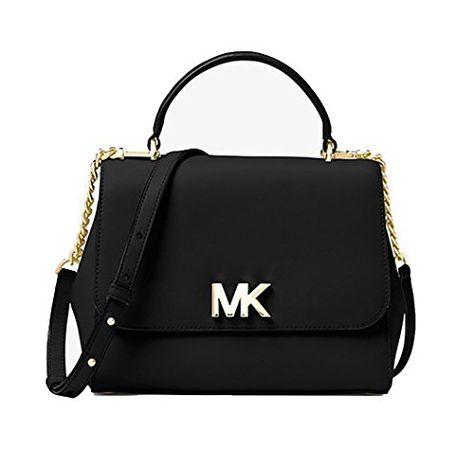 84248b2b92 Michael Kors Medium Studded Ciara Messenger Womens Saffiano Leather ...
