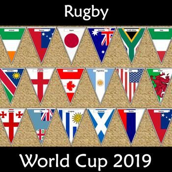 Rugby World Cup 2019 Bunting Rugby World Cup World Cup Rugby