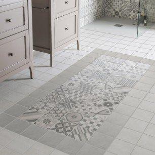 Carrelage Sol Et Mur Gris Elliot L 15 X L 15 Cm Flooring