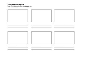 Story Board Template Student Writing Frame Story Templates