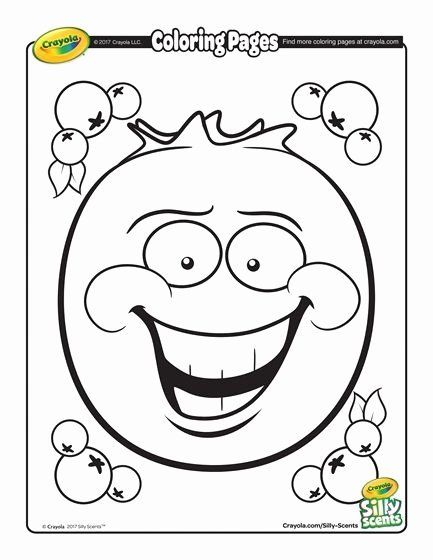 Free Crayola Coloring Pages Fresh Silly Scents Blueberry Coloring Page In 2020 Valentine Coloring Pages Crayola Coloring Pages Free Coloring Pages