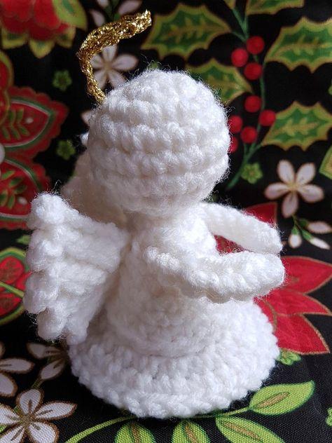 Little Angel Crochet pattern by Rhondda (Oombawka Design, Ltd.)