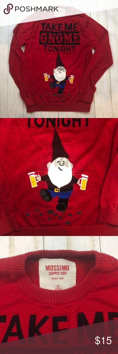 Christmas Sweater Take Me Gnome Tonight In 2019 My Posh Picks