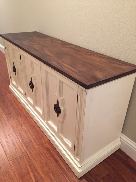 Refinished Sideboard / Buffet by Aim4U on Etsy https://www.etsy.com/listing/247708877/refinished-sideboard-buffet