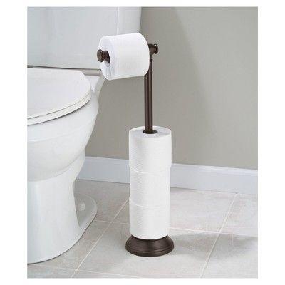 Free Standing Toilet Paper Holder Bronze Interdesign Diy Toilet Paper Holder Toilet Paper Stand Free Standing Toilet Paper Holder
