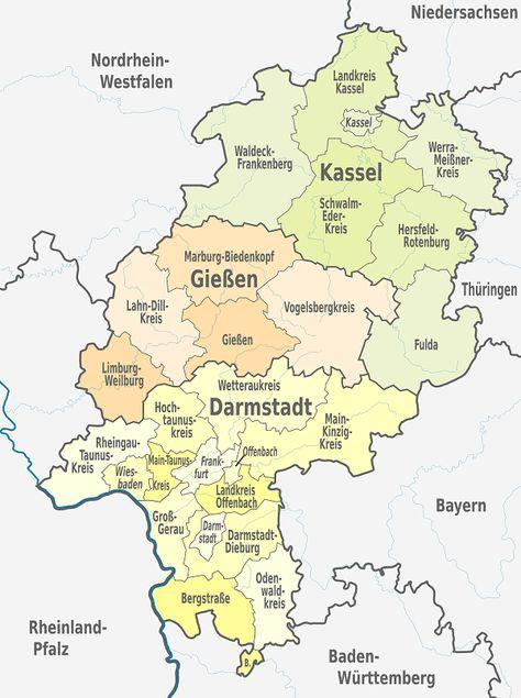 Offenbach Am Main Jugendamt Hessen Karte Hessen