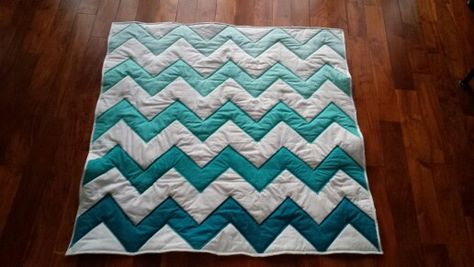 Chevron ombre quilt! | Quilts, I love... | Pinterest | Ombre : shadowed daisy quilt pattern free - Adamdwight.com