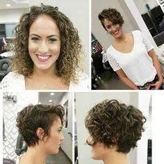 Resultado De Imagem Para Curly Undercut Bob Penteados Encaracolados Curtos Cabelo Cabelo Curto
