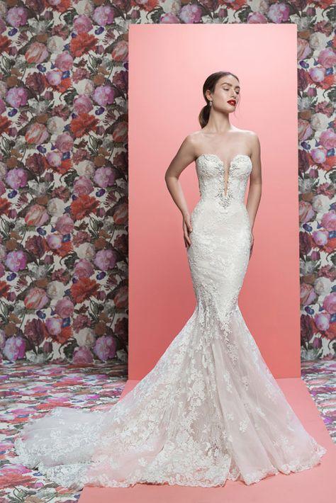 bcfe35287 25 Vestidos de novia para todo tipo de chica y escote  ¡será ...