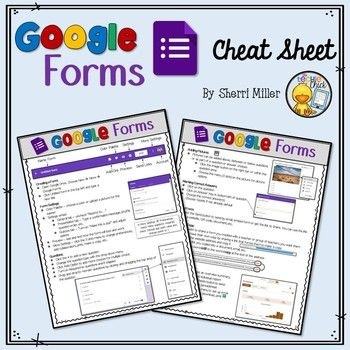 Google Forms Cheat Sheet Google Forms Student Information Form Summer Writing Prompts