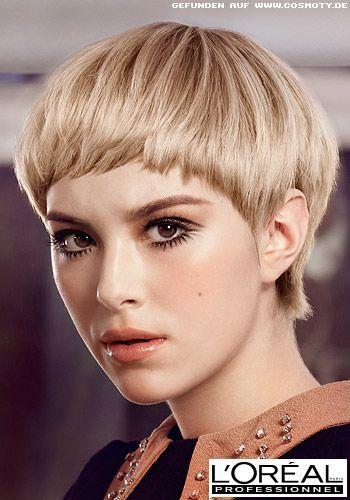 Frisuren Frauen Pilzkopf Frisurentrends Edgy Hair Braids For Short Hair Short Blonde Hair