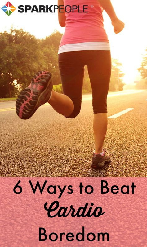 Take your cardio from ho-hum or FUN with these boredom-busting tips | via @SparkPeople #fitness #exercise #workout #motivation
