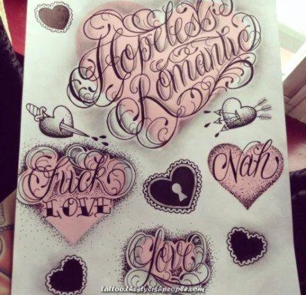 Fantastic Tattoo Fonts Script Coronary Heart 50 Concepts For 2019 Romantic Tattoo Tattoo Lettering Fonts Tattoo Fonts