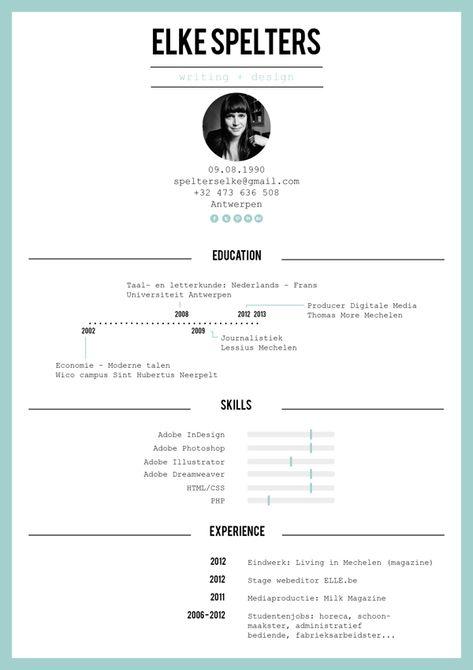 Resume Design l Curriculum Vitae l CV l Graphique l Design graphic l