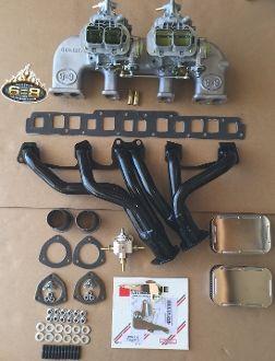 Jeep 258 Twin Weber 38 Weber System W 6 8 Headers Jeep Fuel