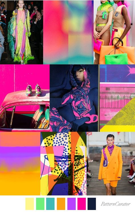 TREND   PATTERN CURATOR - DAY GLO . SS 2020