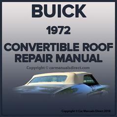 Mercedes Benz R107 Series Convertible 1971 1989 Roof Repair Replace Instruction Manual Roof Repair Buick Repair
