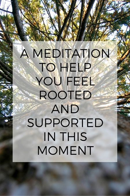 A meditation for you to try today
