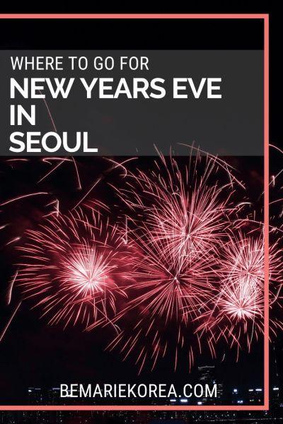 New Year Eve In Seoul 2020