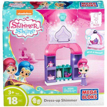 Mega Bloks Nickelodeon Shimmer and Shine, Dress-Up Shimmer