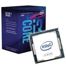 Procesador Intel Core I3 8100 Producto