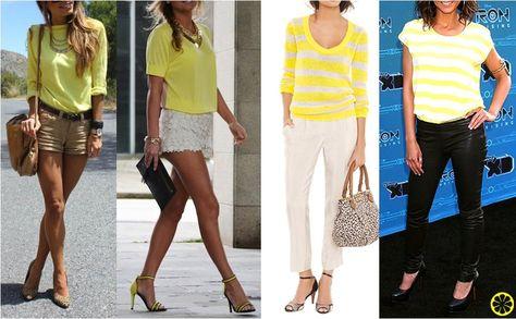 Look do Dia = Blusa Amarela